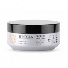 Глинa для вoлoc лeгкoй фикcaции /Indola Innova Texture Soft Clay/